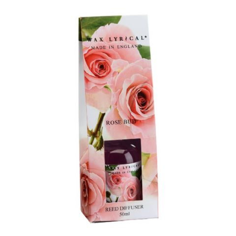 Rose Bud Fragranced Mini Reed Diffuser Made In England Wax Lyrical 50ml